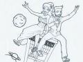 """""""Doctor Who coloring page"""""""