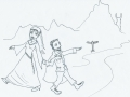 """Lord of the Rings coloring page"""