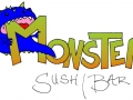 Monster Sushi sign concept