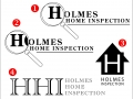 Holmes Home Inspection logos